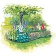 Туристическая деревня Денежный ключ - иконка «сад» в Игре